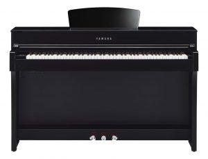 Yamaha E-Piano 635 Schwarz Glanz